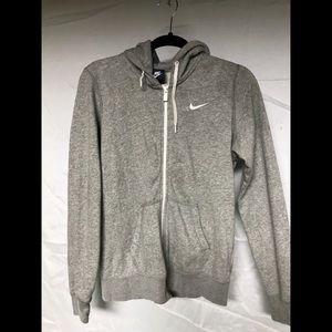 Nike zip up sweat shirt jacket